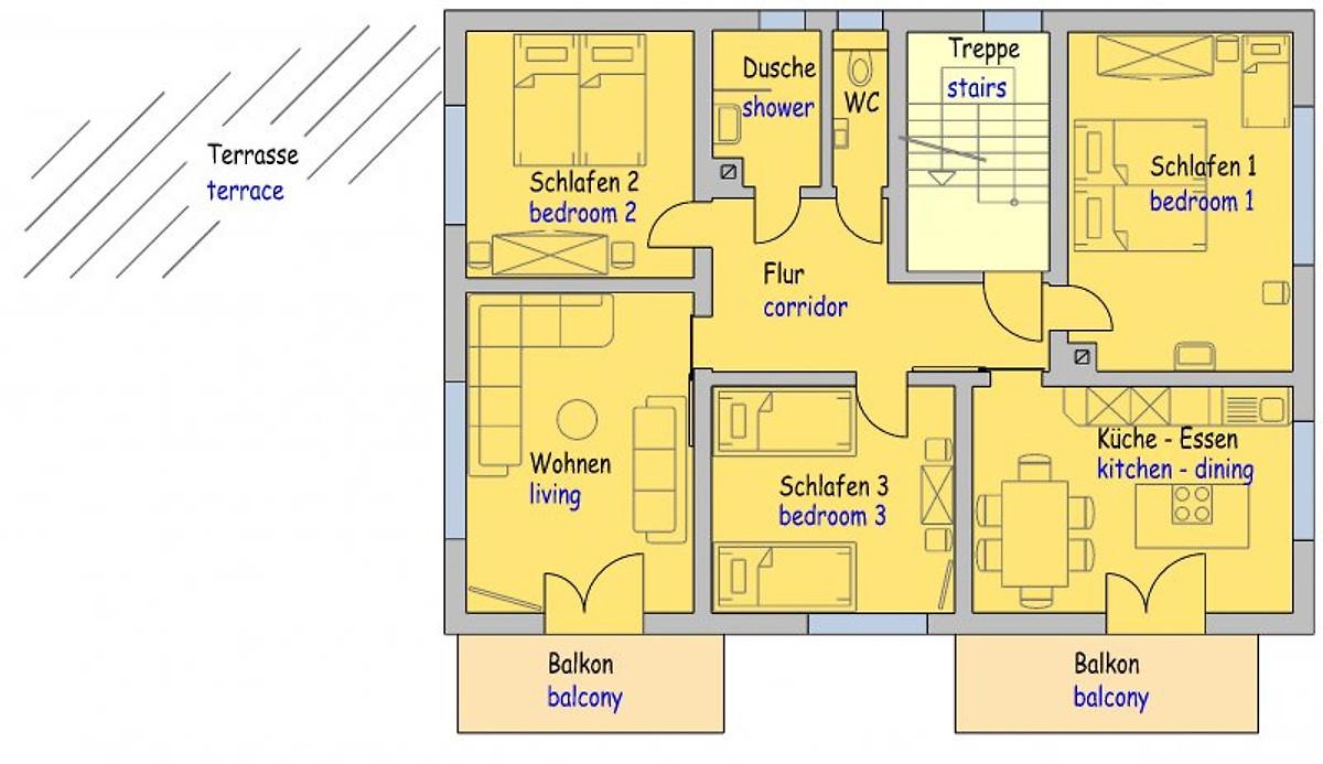 am keschtewaeldele appartement forbach louer. Black Bedroom Furniture Sets. Home Design Ideas