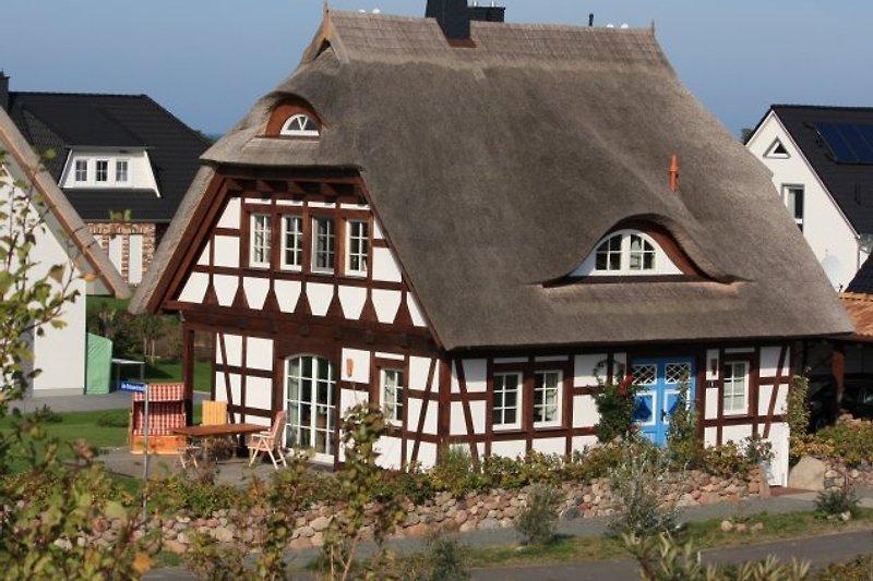 So sehen schöne Ferien aus!- Rügen-Lancken-Dranske- Ferienhaus