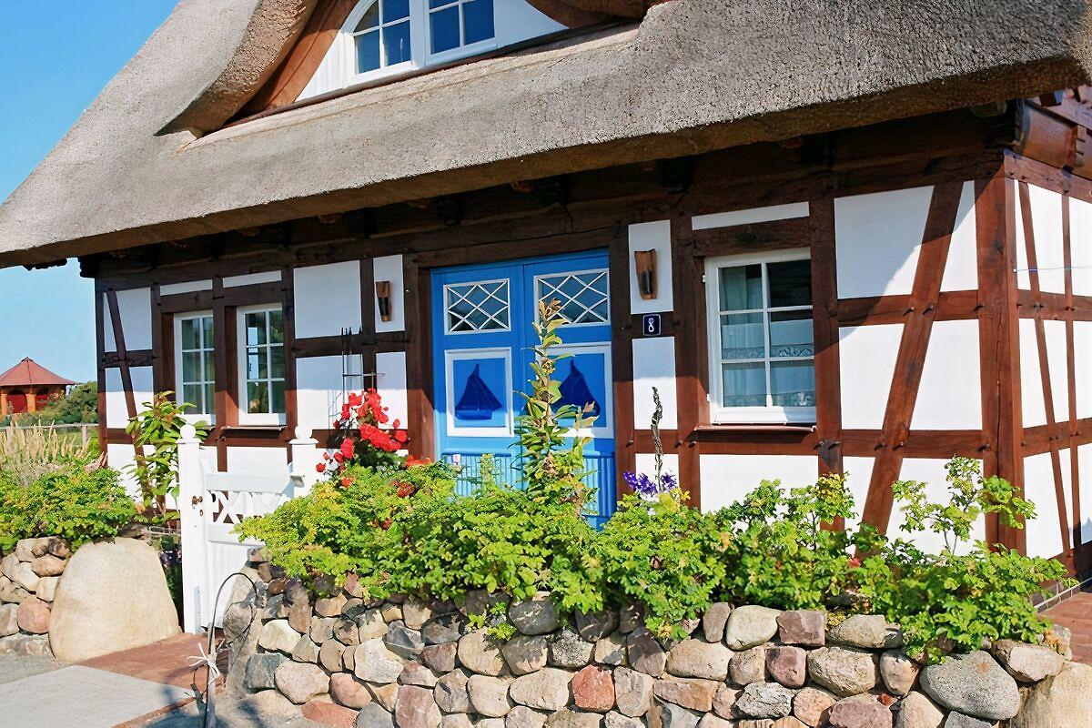Fachwerkhaus Ruegende WEB Seite Ferienhaus In Dranske