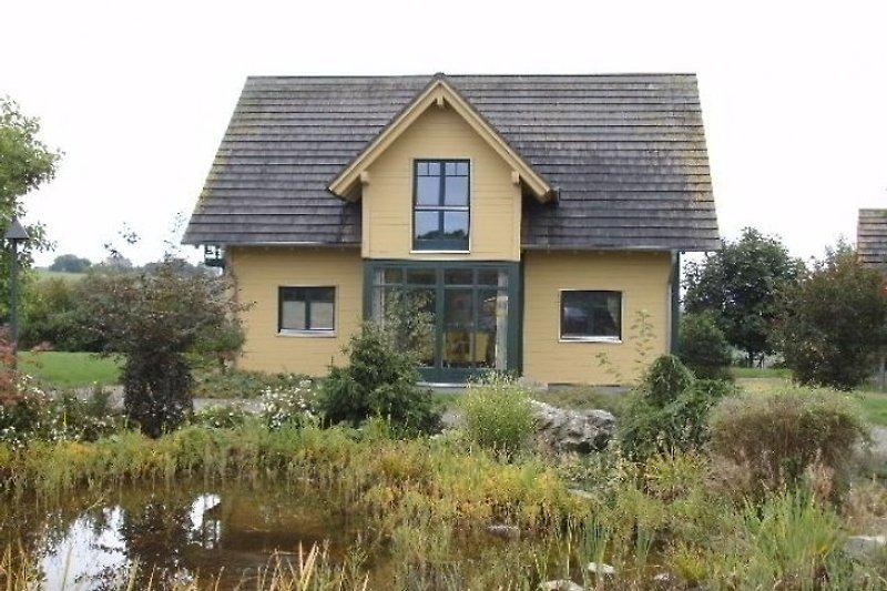 Das Haus und Teich