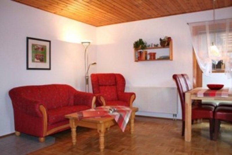 gemütliche Sitzecke Wohnzimmer