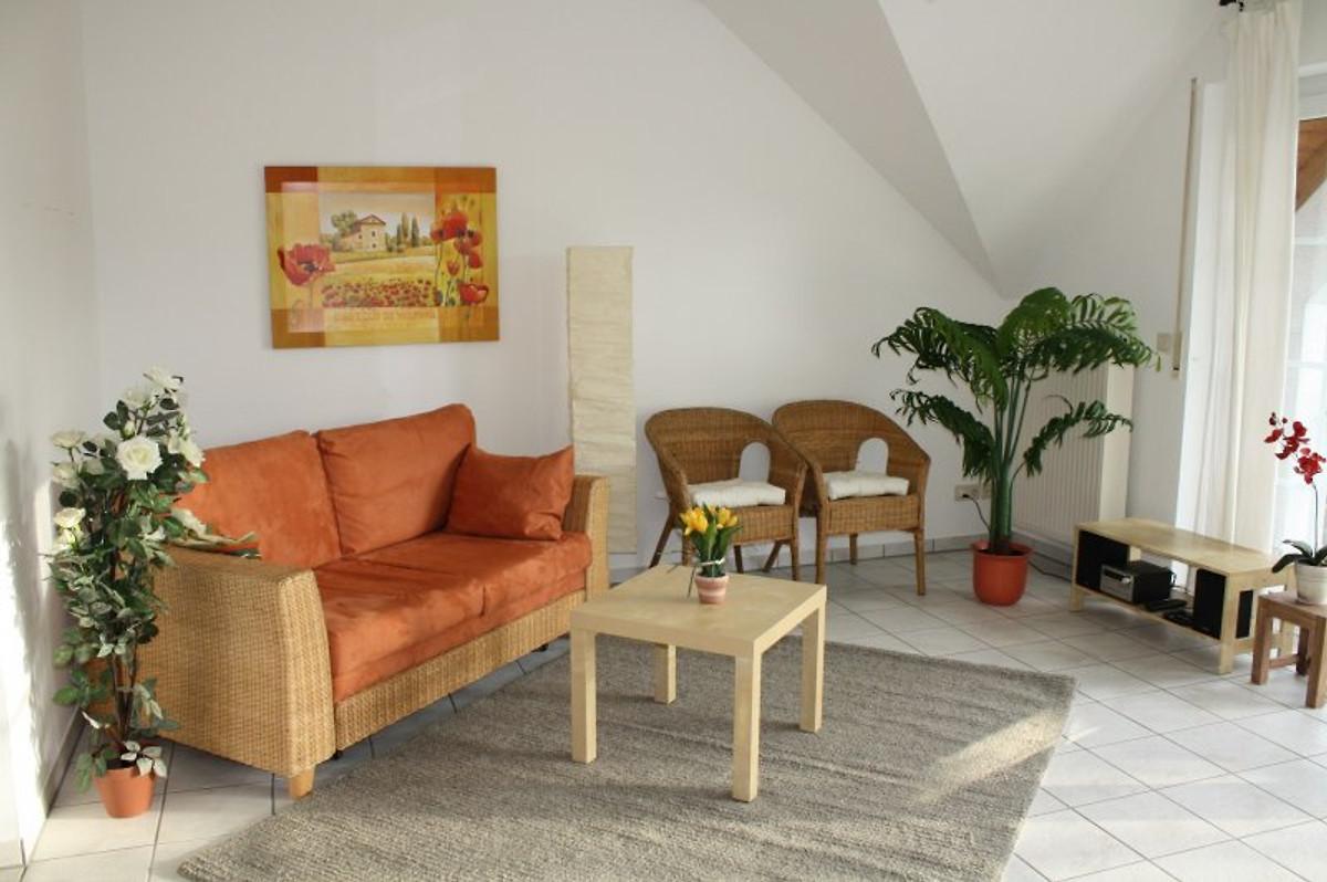 moderne mediterrane einrichtung apartment, ambiente mediterran - ferienwohnung in büdingen mieten, Design ideen