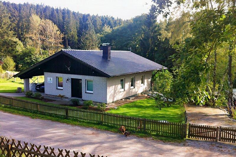 Das Ferienhaus Waldfee
