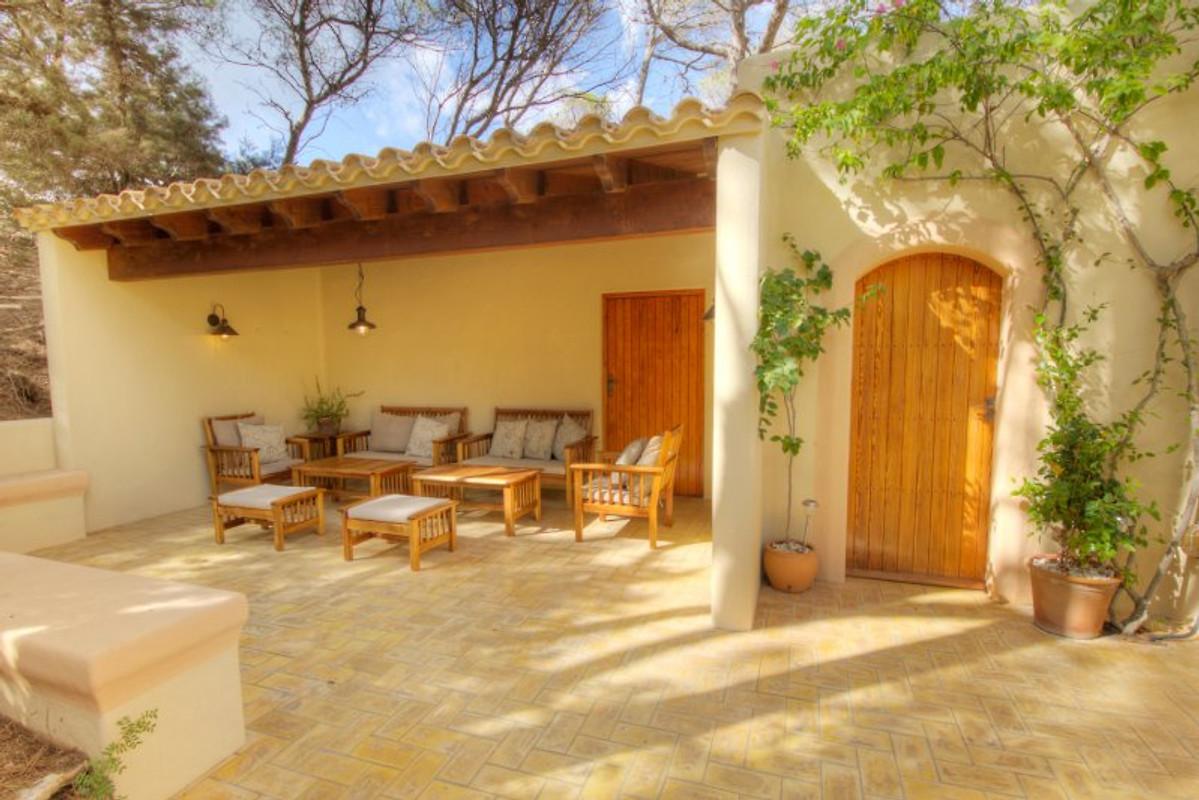 villa dunas - ferienhaus in platja de migjorn mieten, Gartenarbeit ideen