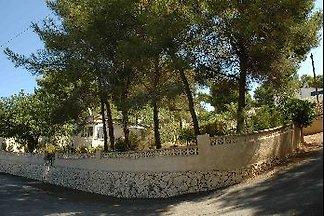 Dauermiete 3 Zimmerhaus&Garten Moraira Calpe Denia