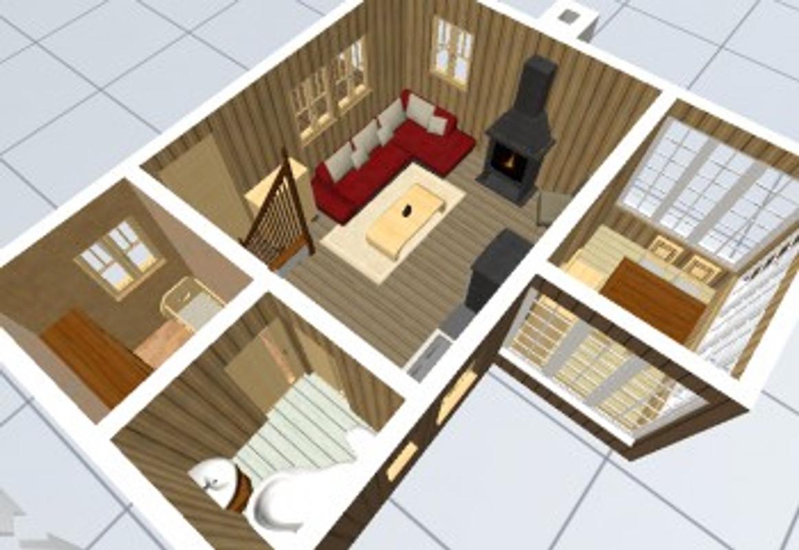 Captivating 3D Zimmereinrichtung