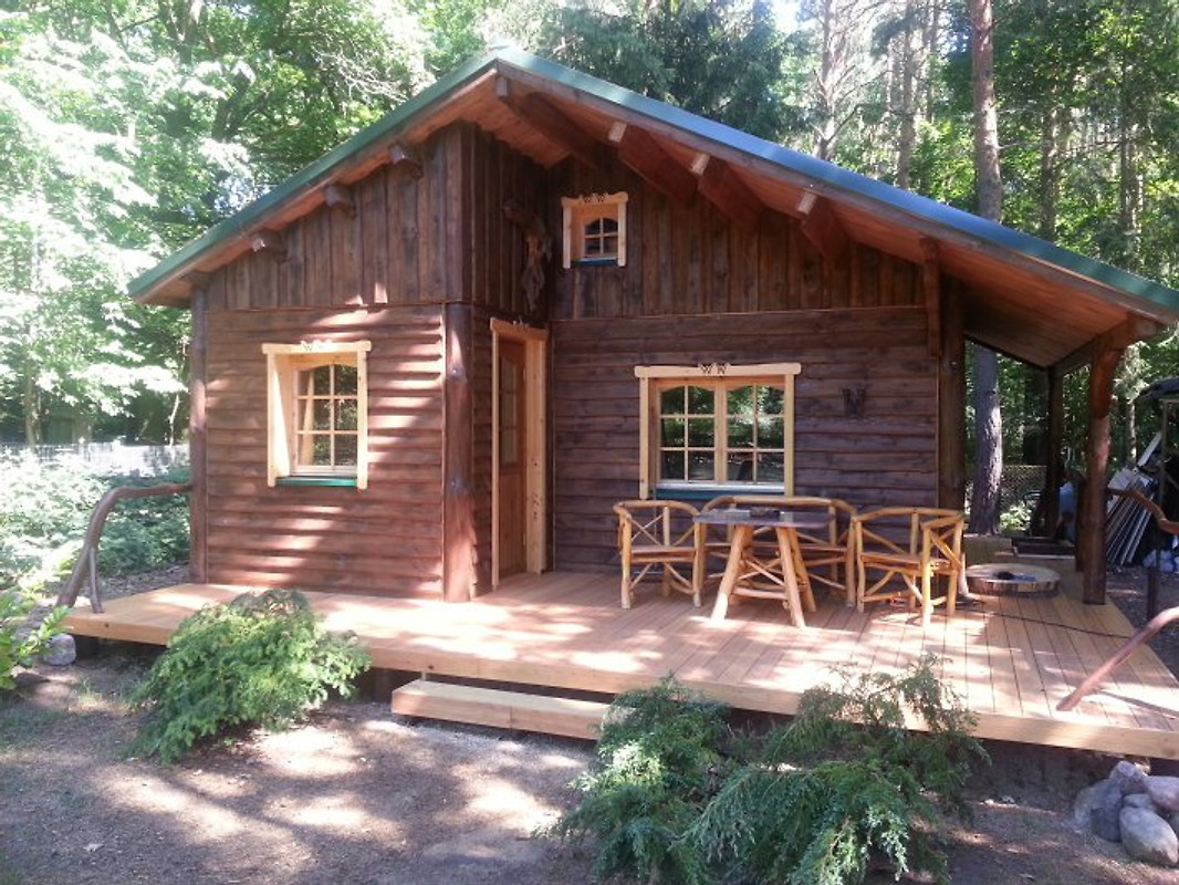 Holzhaus Waldwichtel Am Wald See In Neuruppin Frau Van Knudsen