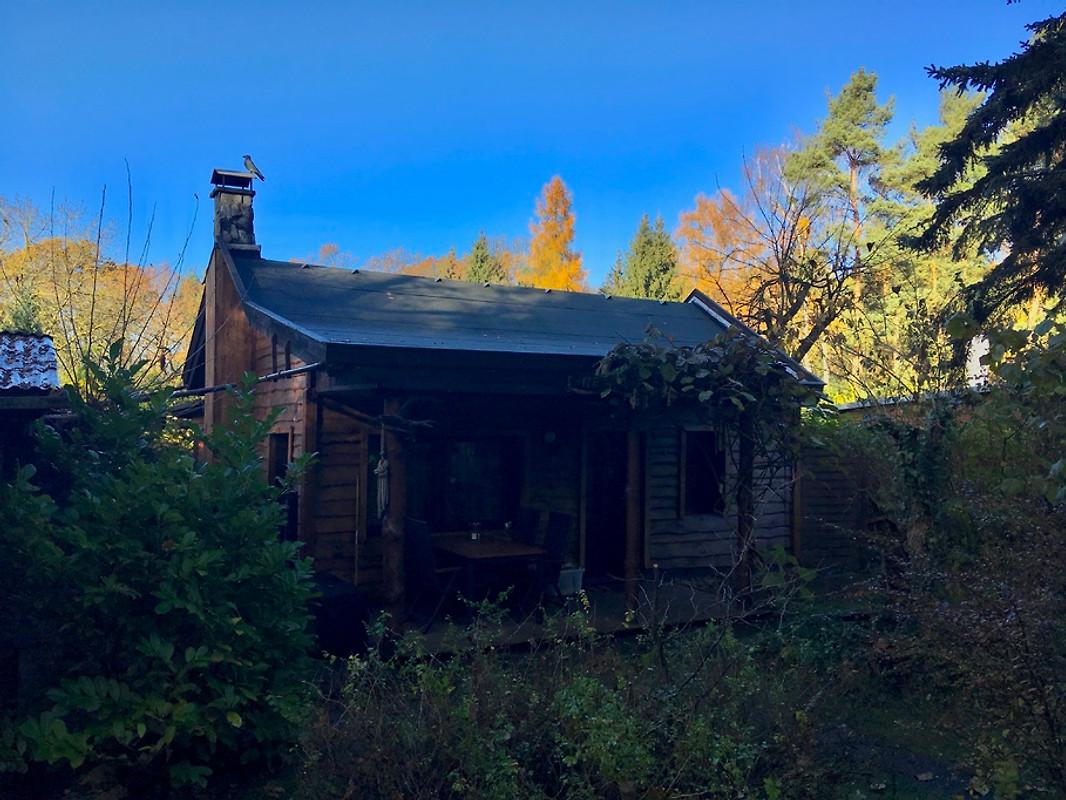 Norwegisches Haus Am Wald Und See