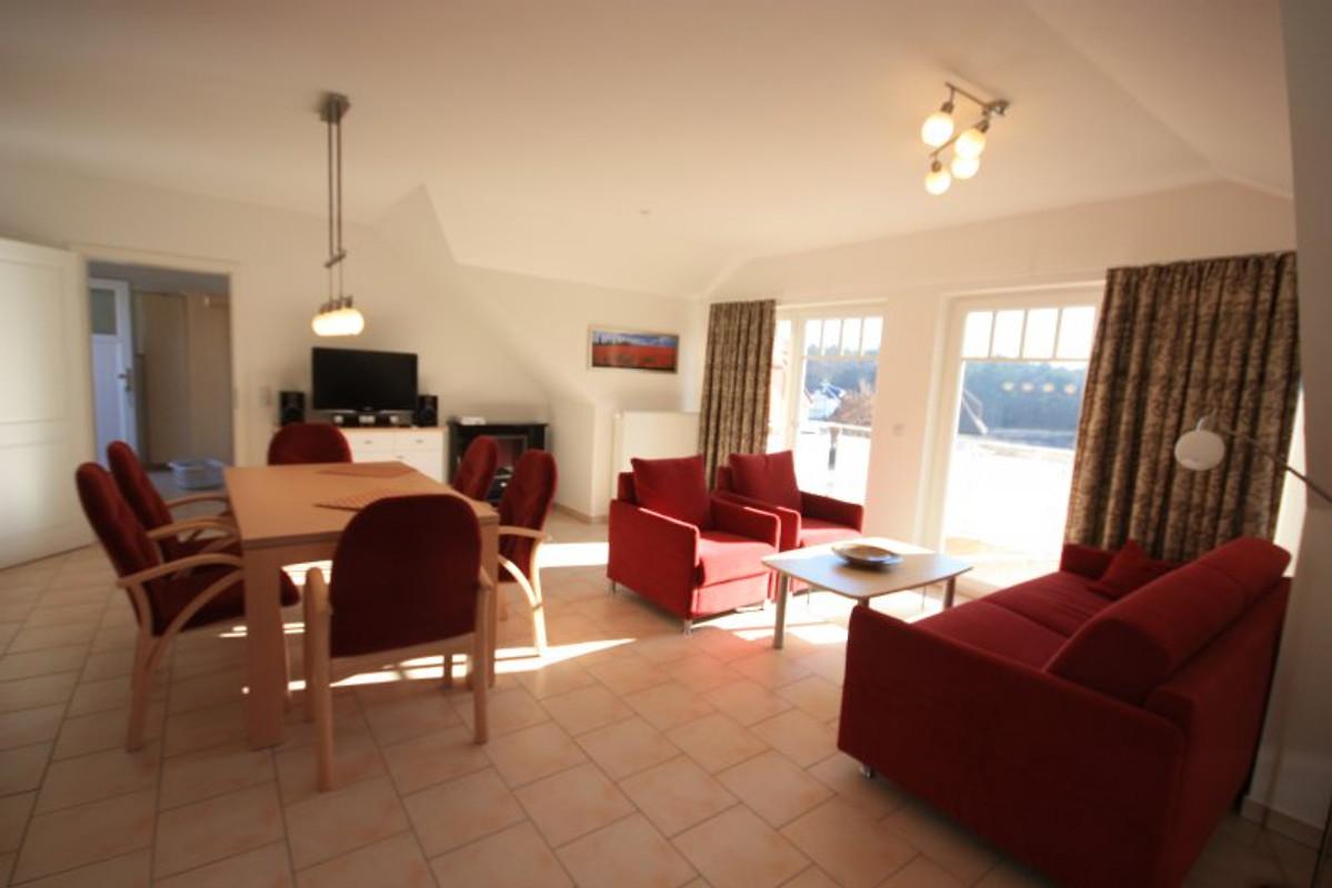 3r fewo seevogel zum strand ferienwohnung in for Wohnzimmer dachgeschoss