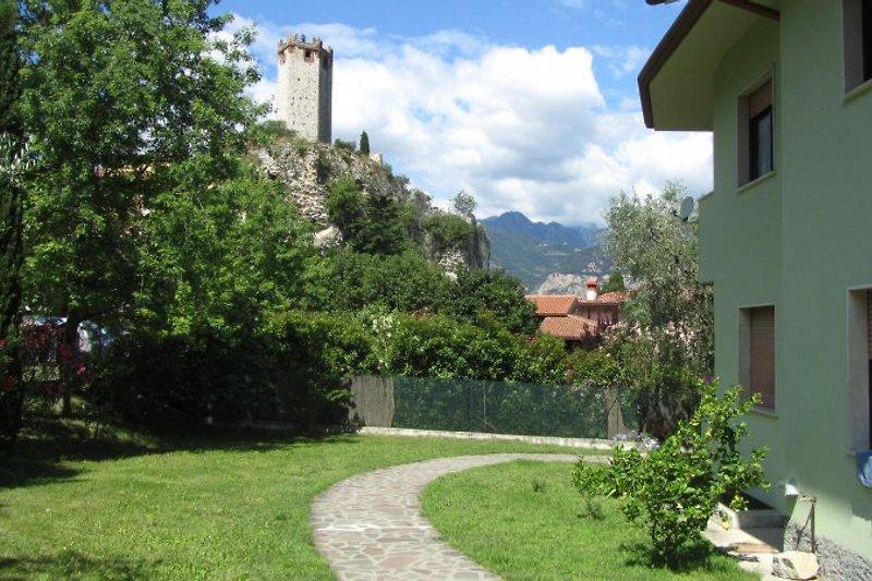Blick auf die Skaliger-Burg