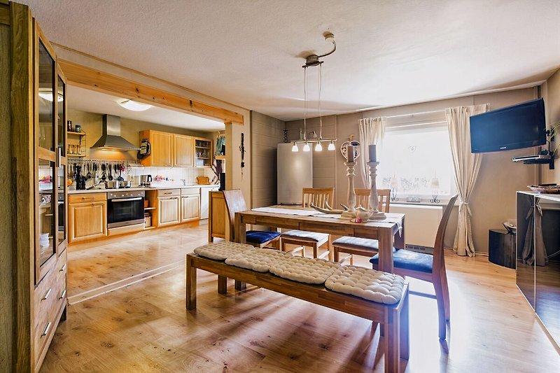 Küche Ferienwohnung Idylle in Hünfelden