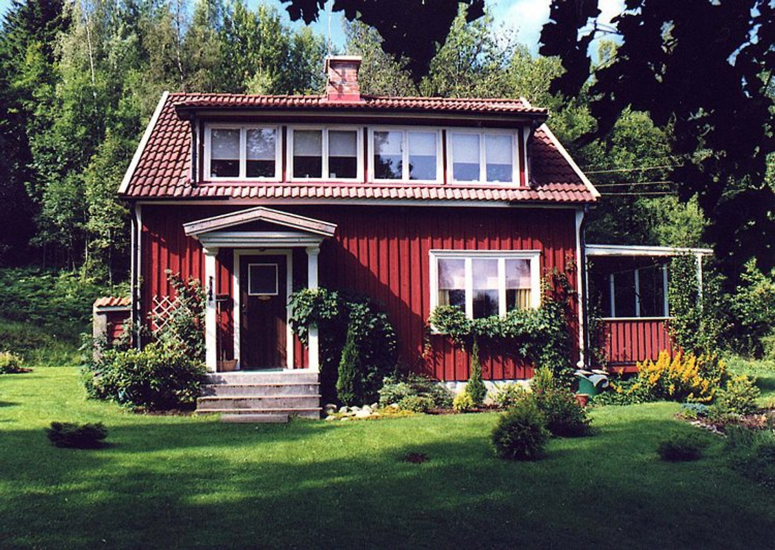 Haus in schweden direkt am see