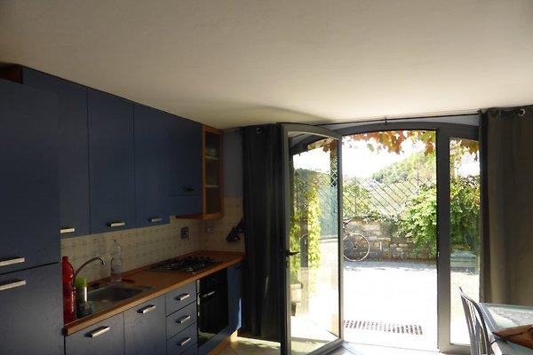 Kochbereich, Einbauküche
