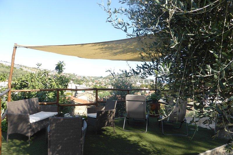 Gartenterrasseterrasse