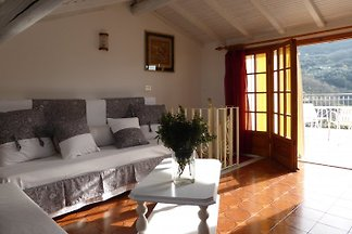 Holiday house on the Riviera, about 12 km from the sea, mountains, tranquility,