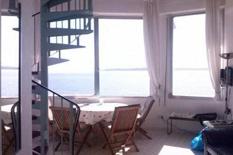 Blick auf Bucht St. Tropez