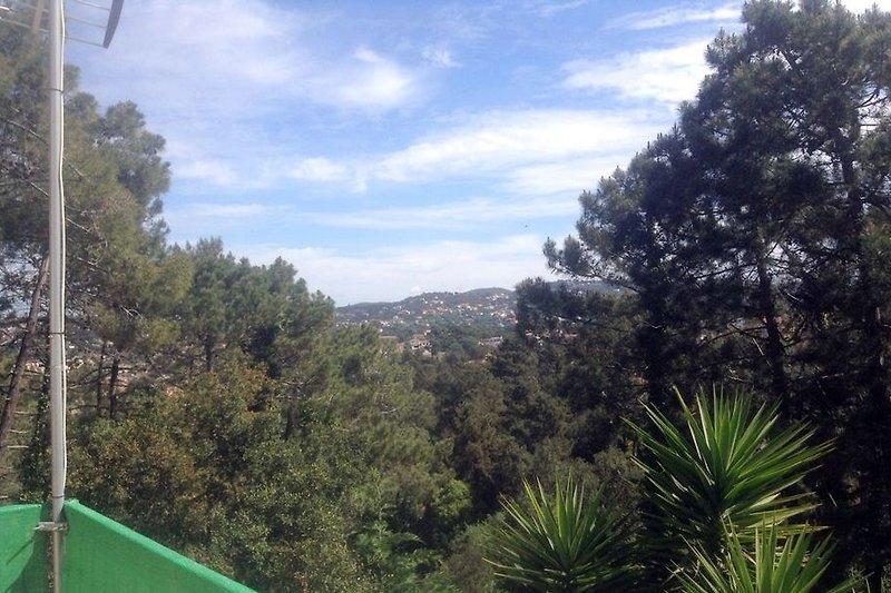 Panoramablick Balkon