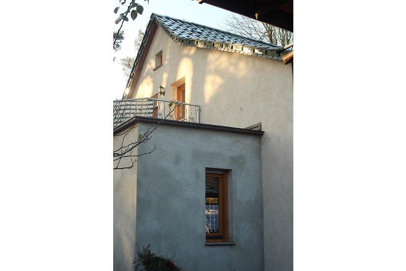 Anbau mit Balkon