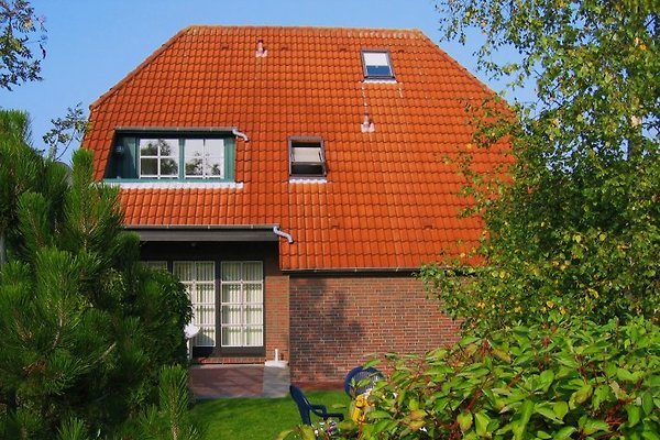 Friesisches Einzelhaus in sehr heller Südausrichtung