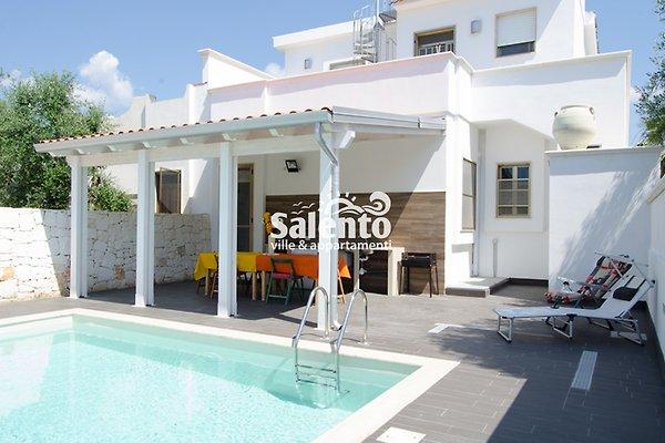 Villa María con piscina y jardín en Punta Prosciutto - imágen 1