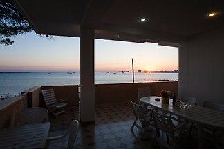 Villa sur la plage de Porto Cesareo