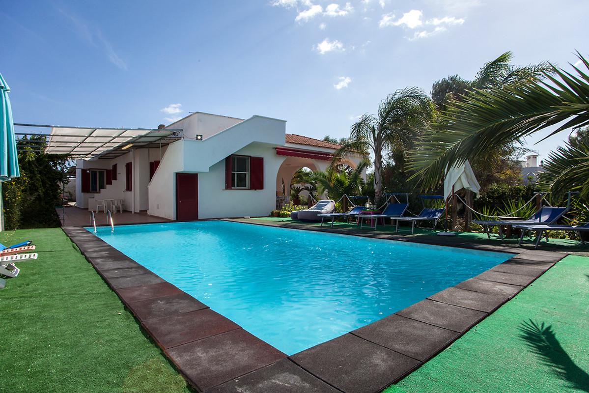 Villa met zwembad in puglia in porto cesareo bedrijf casesalento
