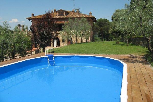 Casa la Greta, max. 22 pers. 11DZ à Badia Agnano - Image 1