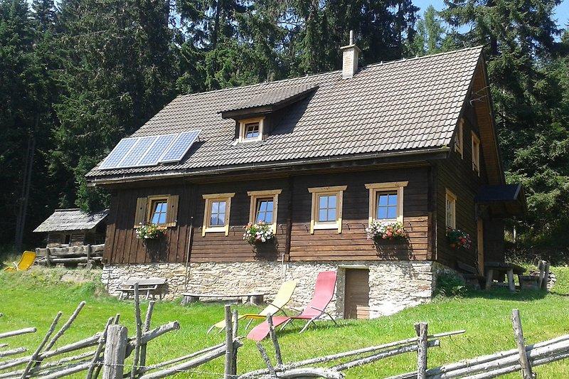 Grosshinterbergerhütte Sommer