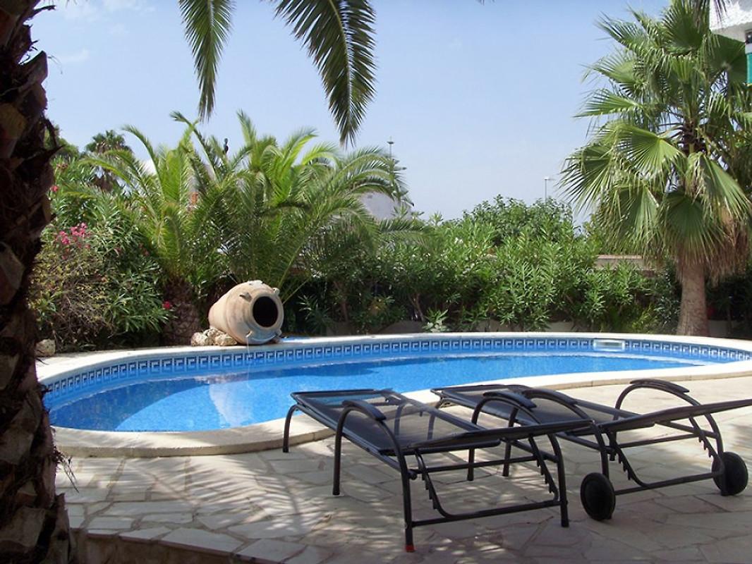 traumhaft pr pool 200m von strand ferienhaus in riumar
