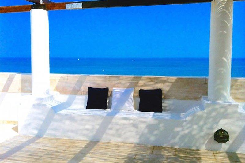 Dachterrasse - hier beginnt Ihr Urlaub!