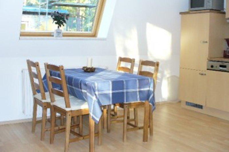 Wohnküche Dachgeschoss