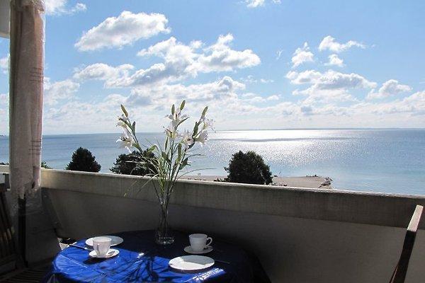 Balkon-Blick zur Ostsee