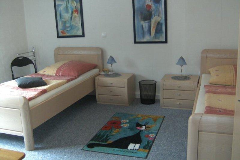 Zweibettzimmer mit zusätzlicher Bettcouch