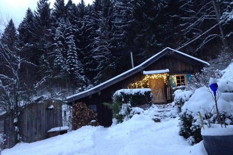 Elfenhaus Winterzeit