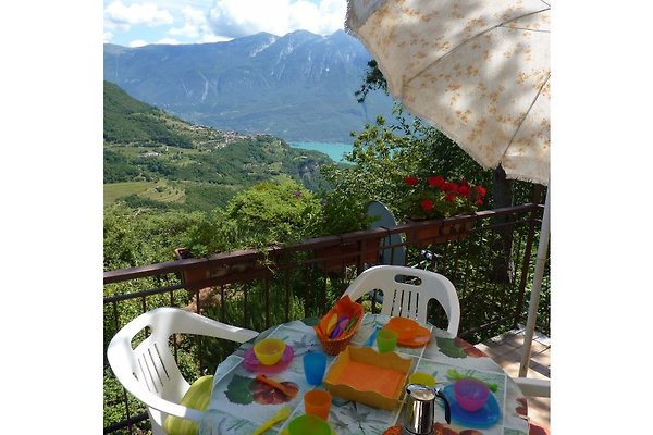 Vue sur le lac Maison Villa à Tignale - Image 1