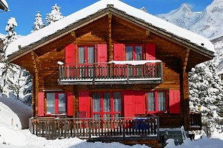 Saas-Fee Chalet 9 people