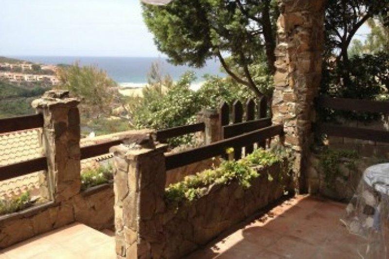 Terrasse mit Meer Blick
