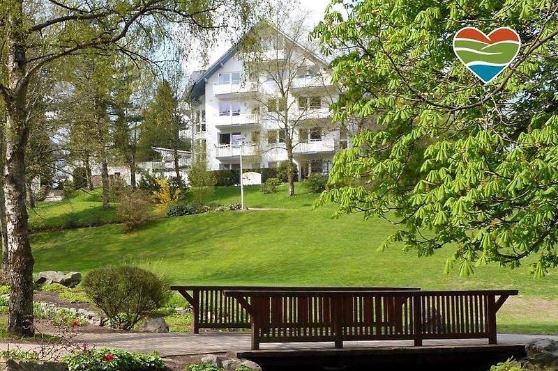 Ferienwohnungen am Kurpark in zentraler Bestlage