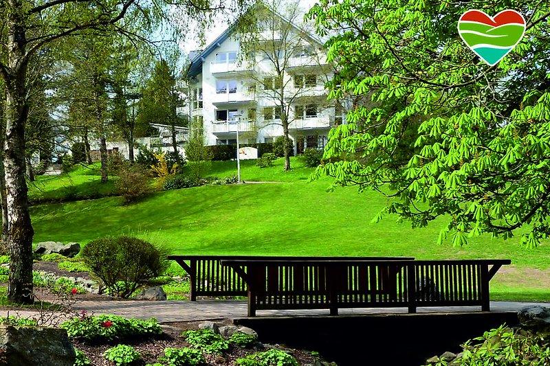 Ferienwohnungen am Kurpark in Bestlage - zentral und ruhig!