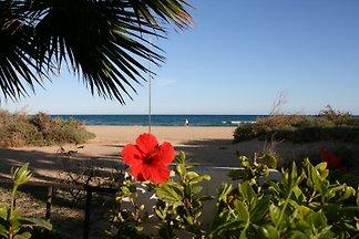Einmalig, in atemberaubender Lage direkt am Strand