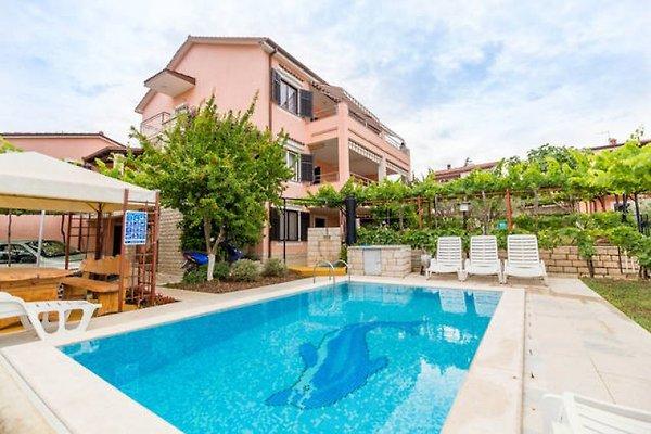 Wohnung mit Pool und großer Terrass in Pula - Bild 1