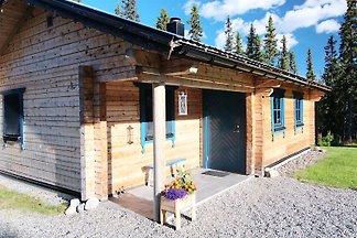 Modernes Blockhaus in Jämtland