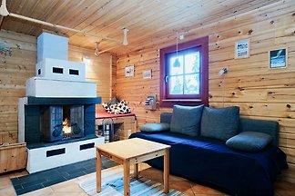 Blockhaus in Jämtland/Schweden