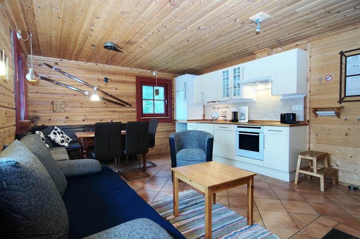 Blockhaus in Jämtland/Schweden - Ferienhaus in Oviksfjällen mieten
