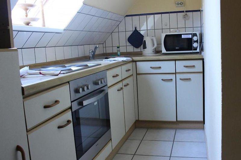 Küche im Studio-App.