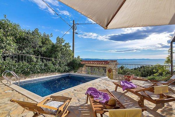 NEU!! Schönes Ferienhaus mit Pool  in Podgora - Bild 1