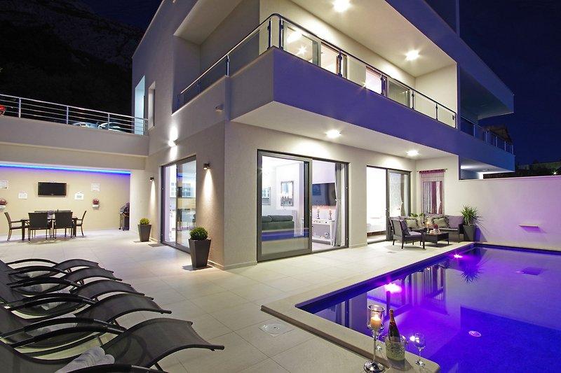 Villa Anja mit Pool