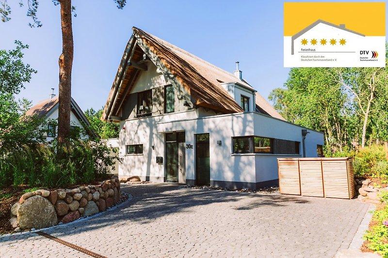 5*****Sterne Strandhaus mit Außenwhirlpool