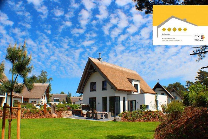 5*****Sterne Strandhaus mit beheiztem Außenwhirlpool ausgezeichnet vom DTV