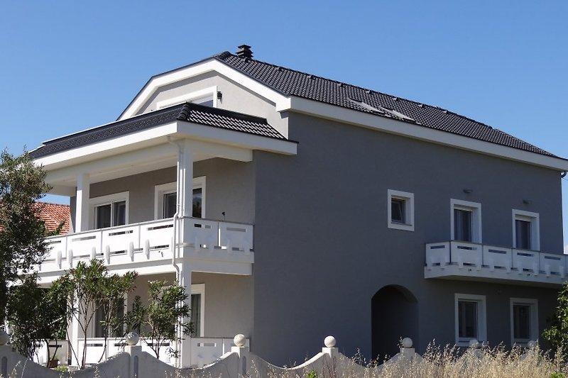 Haus Wasser Ansicht